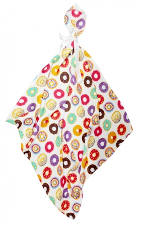 Printed Bamboo Muslin Swaddle 30x30